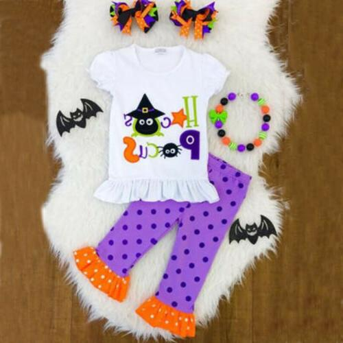 Newborn Baby Christmas Halloween Pants Outfit Canis