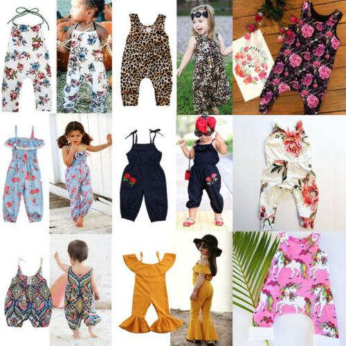 Newborn Kids Floral Clothes Outfits