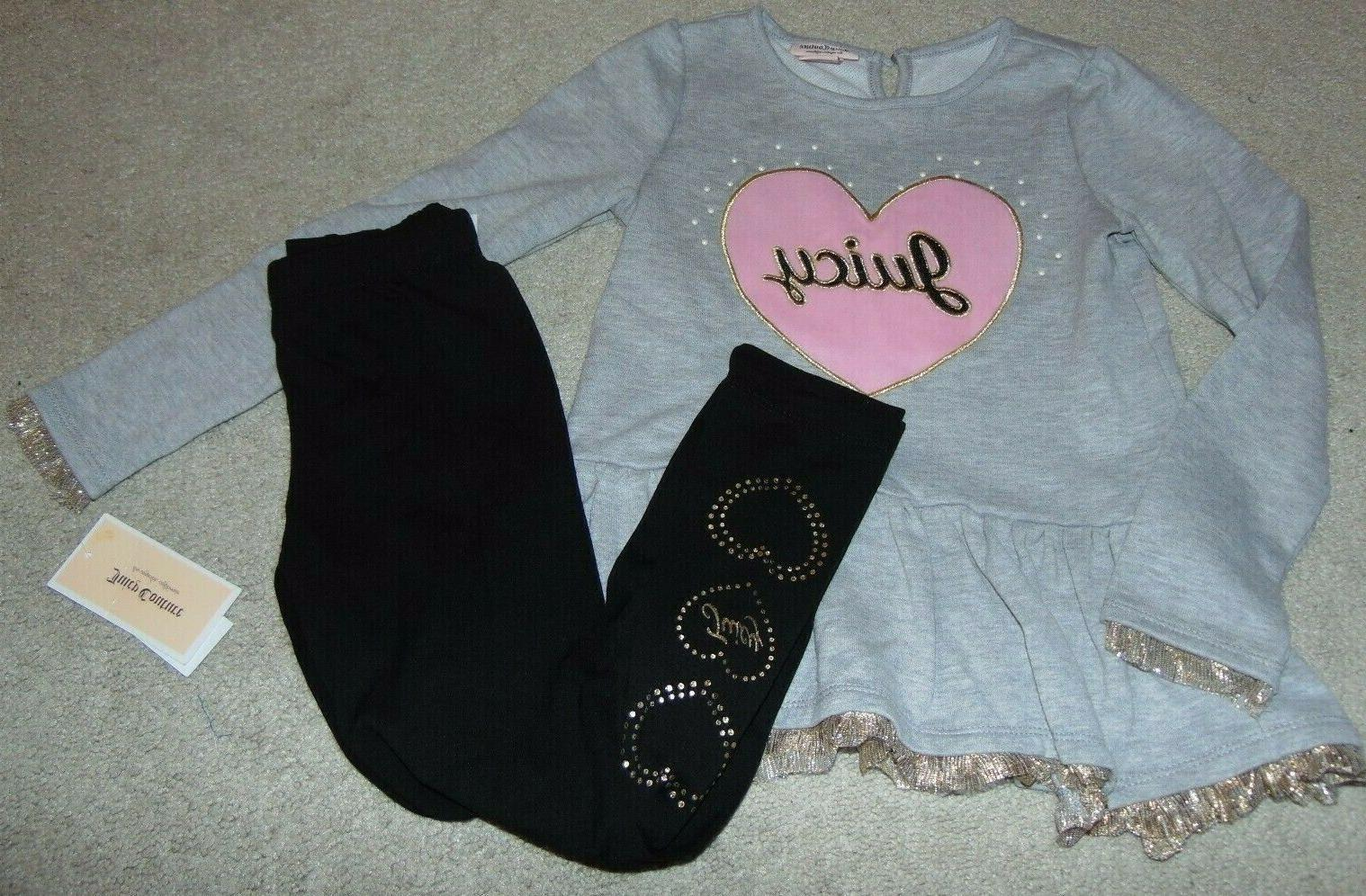 nwt girls heart outfit size 7 super
