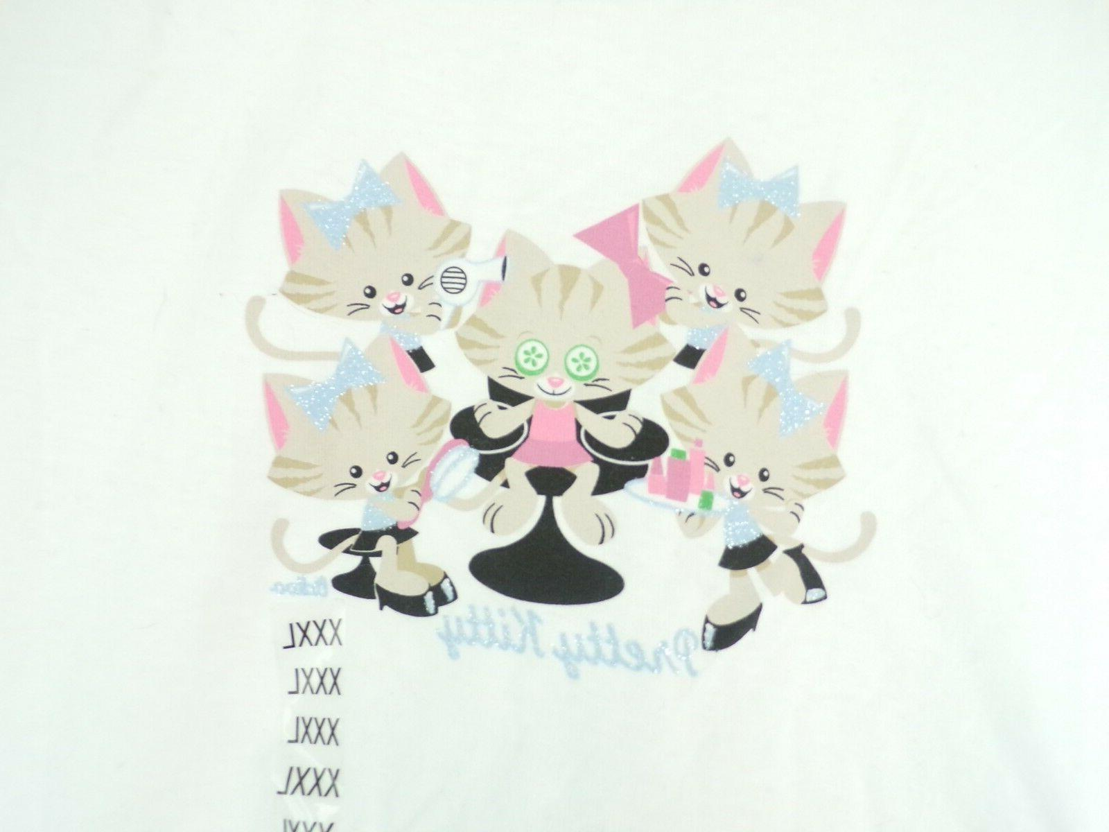 NWT Pretty Kitty Short Shirt Size
