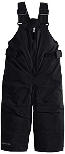 Columbia Snowslope II Bib Pant - Toddler Girls' Black, 4T