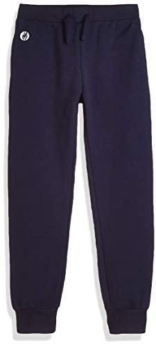 Kid Nation Kids' Soft Brushed Fleece Casual Pull-On Jogger S