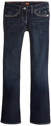Levi's Girl's 7-16 Taylor Thick Stitch Bootcut, Tailored Ind