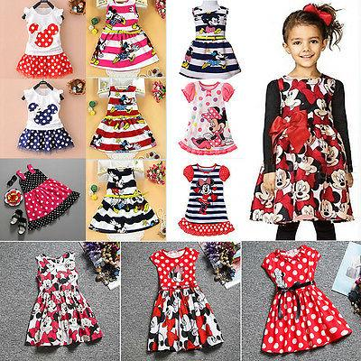 Toddler Kids Baby Girls Summer Mini Skirt Party Casual