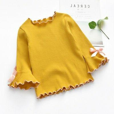 Toddler Long-sleeve Bow Sleeves