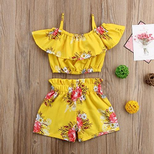 Toddler Floral Clothes
