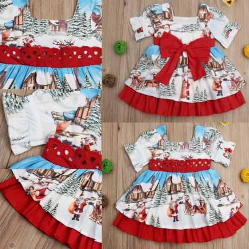Toddler Girls Christmas Dress Holiday Party US