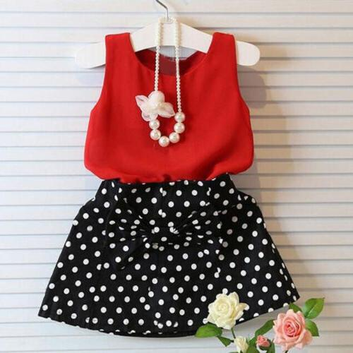 Toddler Kids Outfits Tank Tops