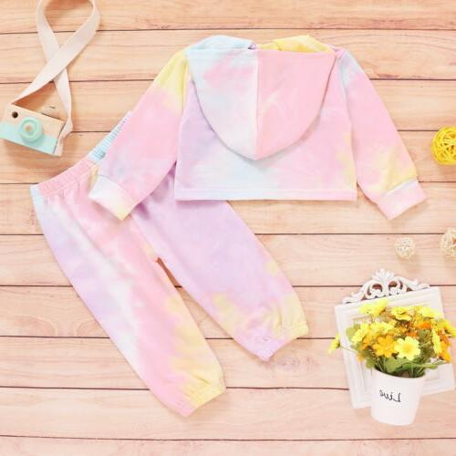 Toddler Baby Tie Dye Clothes Tracksuit