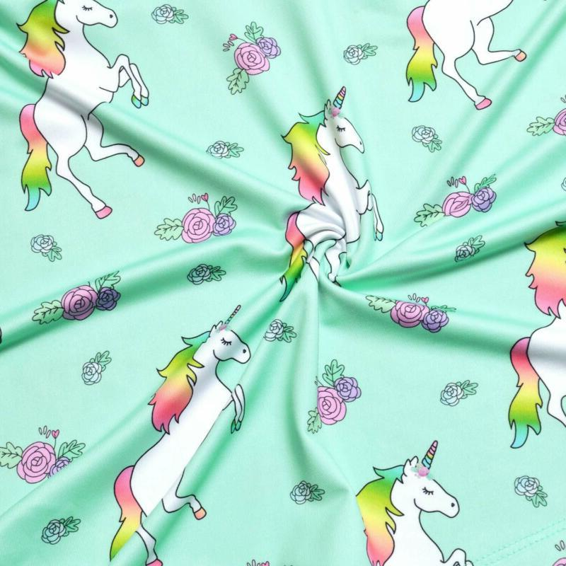 Unicorn Dresses Sleeveless Swing Casual Clothes For Little