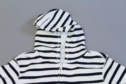 Spotted Zebra Unisex Kid's Long Sleeve Fleece Zip-Up Hoodie SC4