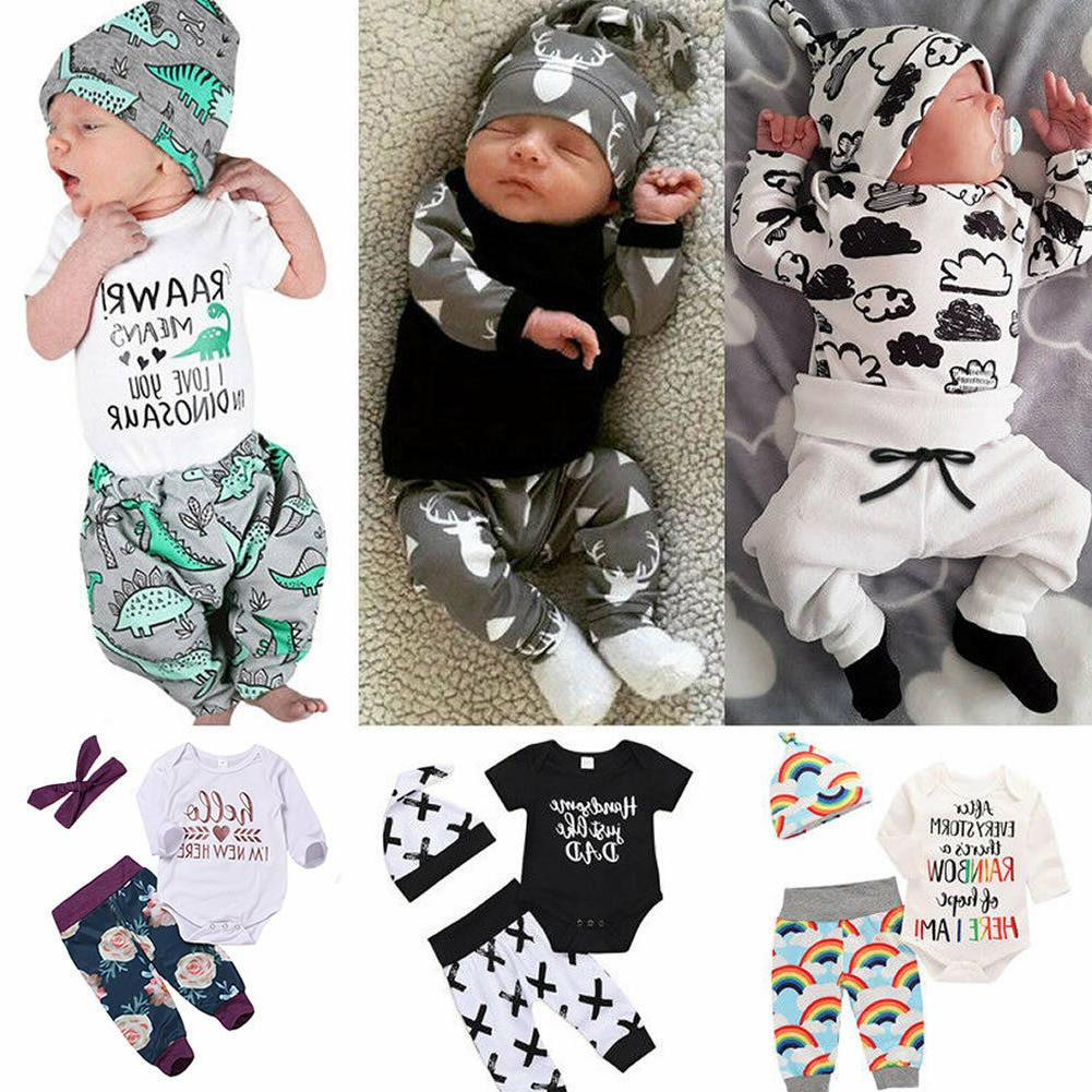 us newborn baby boy girl tops romper