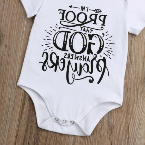 US Infant Baby Girl Bodysuit