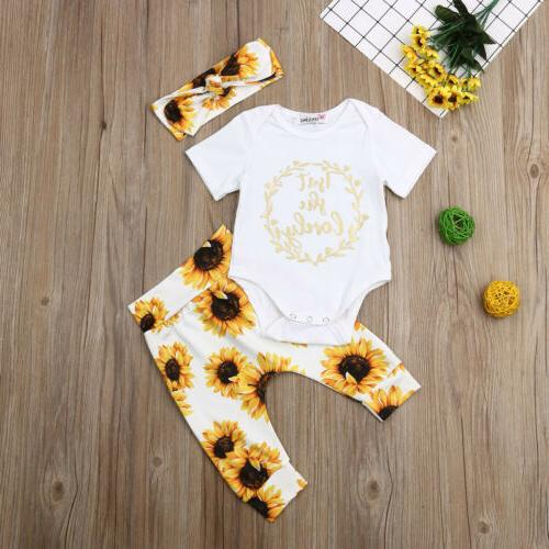 us newborn kid baby girl floral clothes