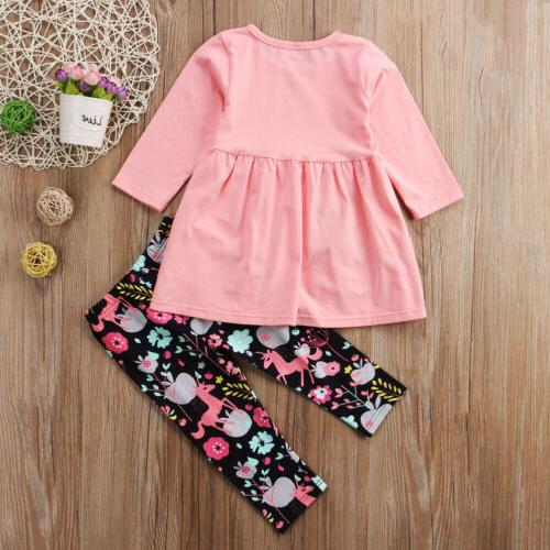 US Girls Clothes Long Dress 2-7T
