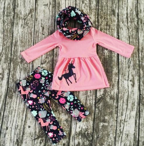 us toddler baby girls clothes long sleeve