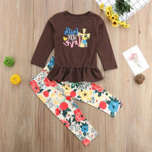 USA Baby T-shirt Pants Outfits