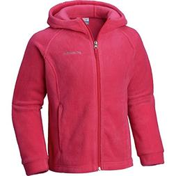 Columbia Little Girls' Benton II Hoodie, Cactus Pink, XS