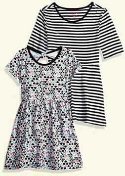 Limited Too Little Girls' 2 Pack Dress , Multi Print, 6X