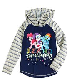 "My Little Pony The Movie ""Chase Your Dreams"" Girls Hooded Sh"