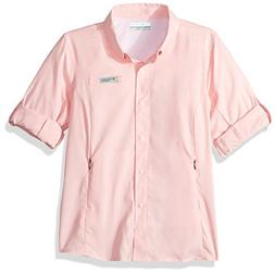 Columbia Little Girl's Tamiami Long Sleeve Shirt, XX-Small,