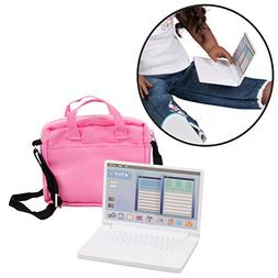 Dress Along Dolly Metal Computer Laptop with Carrying Bag fo