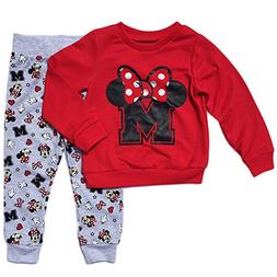 Minnie Mouse Little Girls Toddler Pant & Top Set