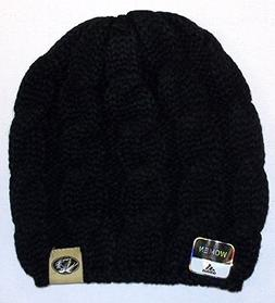 Missouri Tigers Womens Braided Knit Hat