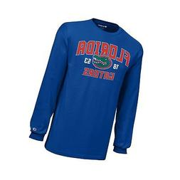 Champion NCAA Boys Long Sleeve Jersey T-Shirt Florida Gators