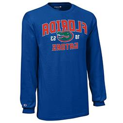 NCAA Champion Boy's Long Sleeve Jersey T-Shirt, Florida Gato
