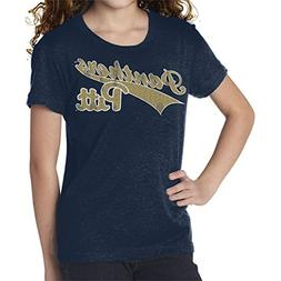Original Retro Brand NCAA Pittsburgh Panthers Youth Girls Te