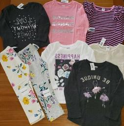 NEW Old Navy Girls 3T Fall Winter Long Sleeve Clothing 8 PIE