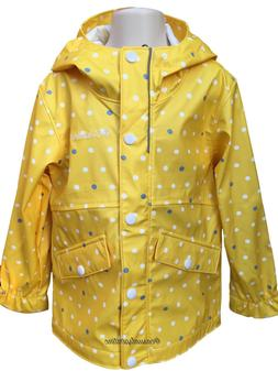 New $65 Girls COLUMBIA waterproof Fire Flies printed rain sl