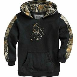 NEW Legendary Whitetails Youth Outfitter Hoodie Onyx Large