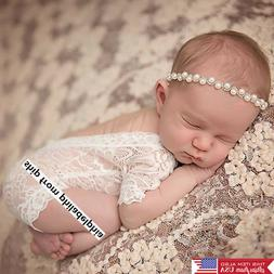 newborn baby girl clothes lace floral romper