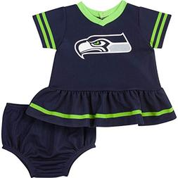 Gerber Childrenswear NFL Seattle Seahawks Girls 2018Dazzle D