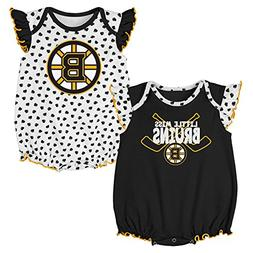 Outerstuff NHL Boston Bruins Newborn & Infant Hockey Hearts