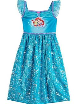 The Little Mermaid Ariel Girls Nightgown Pajamas
