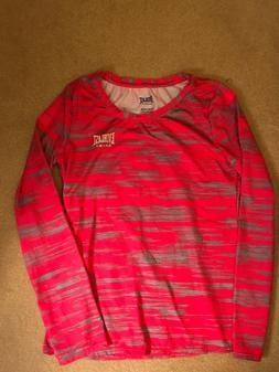 NWOT Everlast Youth Girl Activewear Long Sleeve Top Shirt Si