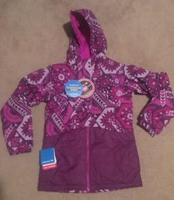 NWT Columbia Girls Outgrown Ready Set Snow Thermal Coil Jack