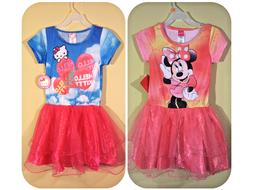 *NWT- HELLO KITTY, DISNEY - GIRL'S TUTU DRESS - SIZE: M - L