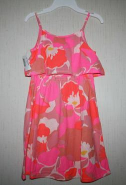 NWT The Children's Place Girls sz 7 8 Tank Pink Sleeveless