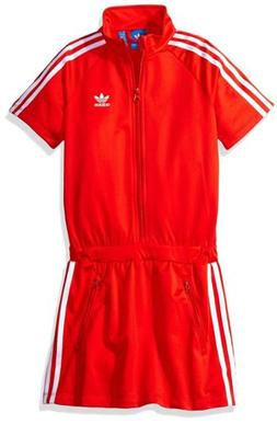 adidas Originals Big Girls Firebird Dress Core Red/White BK0