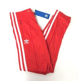 adidas Originals Girls' Supergirl Track Pants Red / White