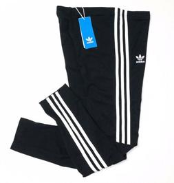 Adidas Originals Trefoil Leggings Large Black New