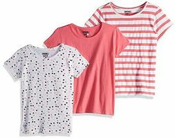 Pack Stars Stripes Pink Solid Multi Print Limited Too Girls'