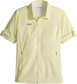 Columbia Girls Tamiami Long Sleeve Shirt, Endive, Large