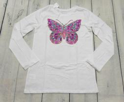 THE CHILDREN'S PLACE GIRLS SIZE 10/12 LONG SLEEVE COLRLFUL B