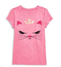 THE CHILDREN'S PLACE GIRLS SIZE 7/8 GRAPHIC TOP NEW WITH TAG