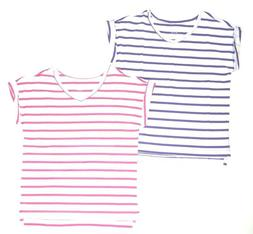 The Children's Place Girls Striped Basic T-Shirt NWT Sizes 4